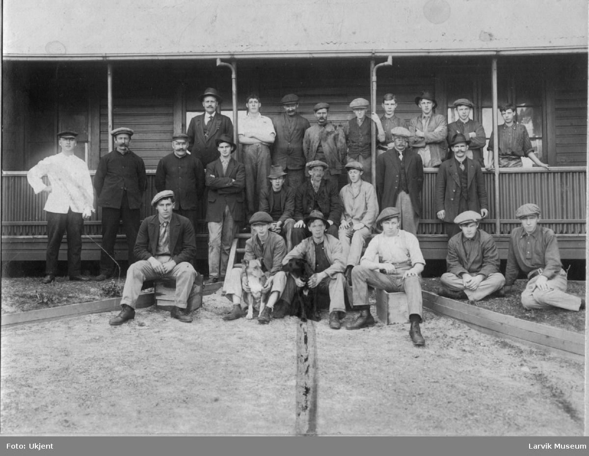 Hvalfangere ved Albany landstasjon, Vest-Australia.