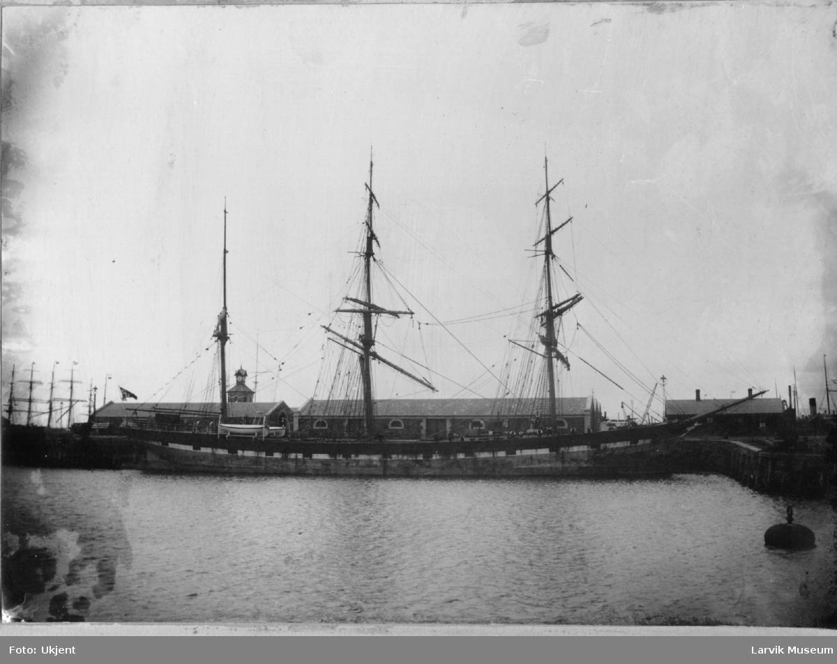 Barken Fritzøe , seilskip.
