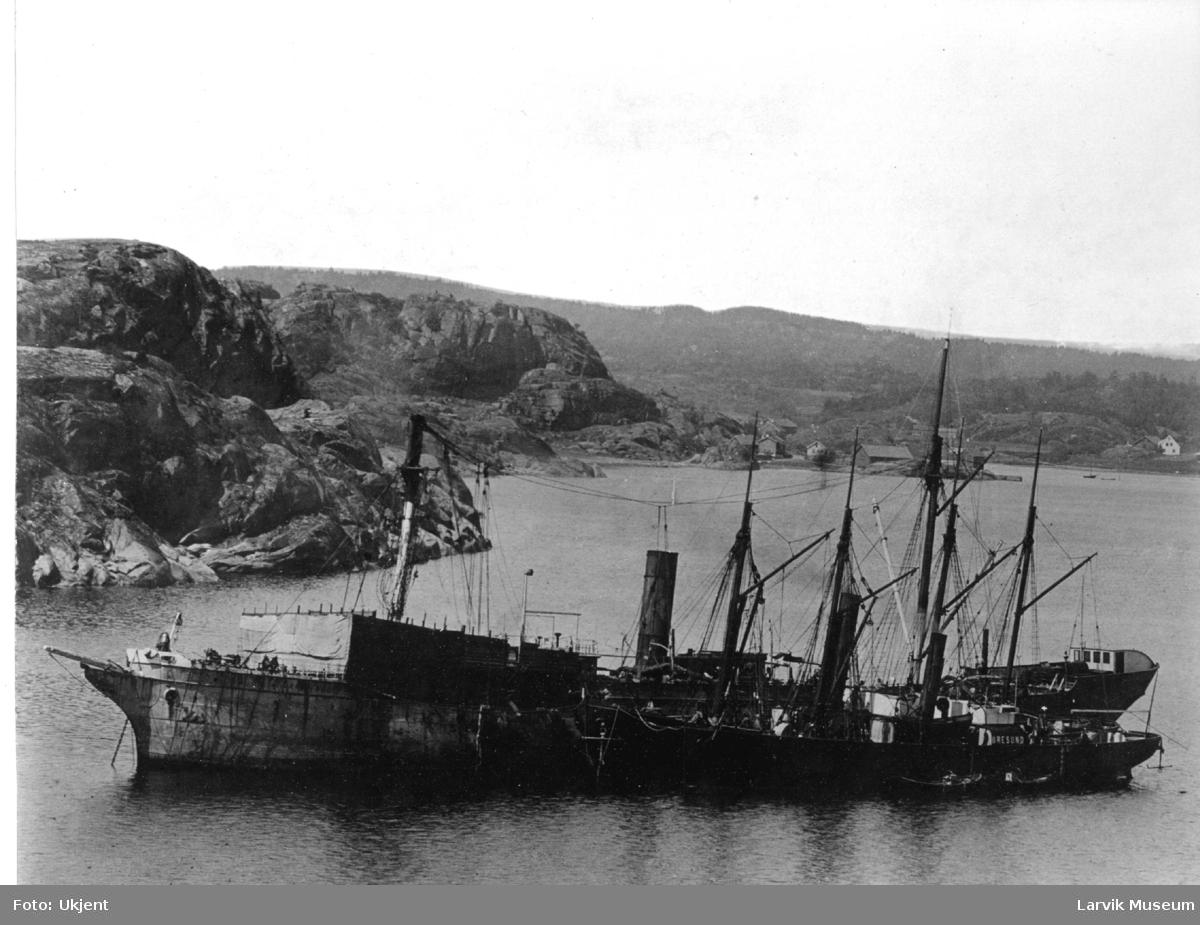 Fartøy, dampskip, d/s Furnside.