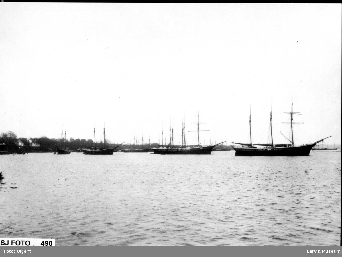 fartøy, seilskip i opplag
