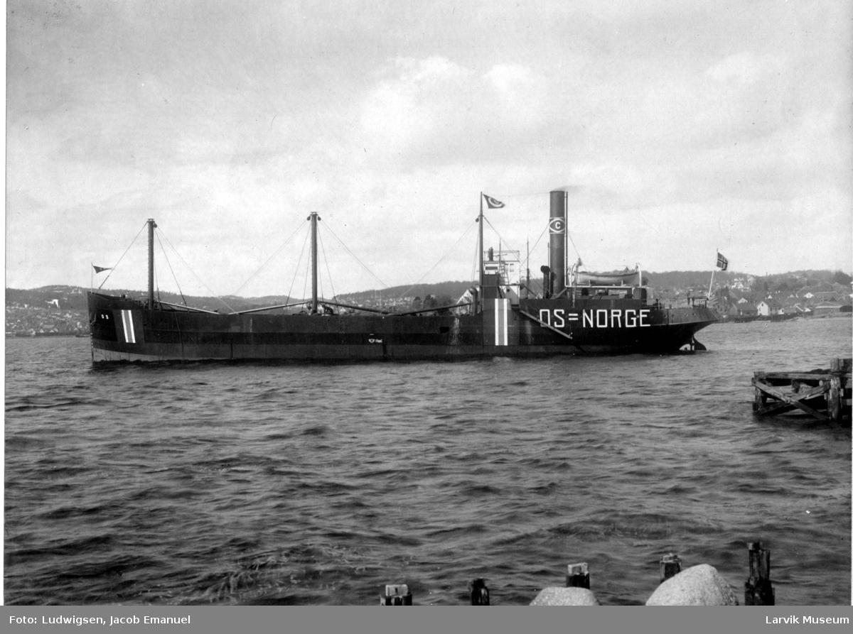 Fartøy, dampskip, d/s OS.