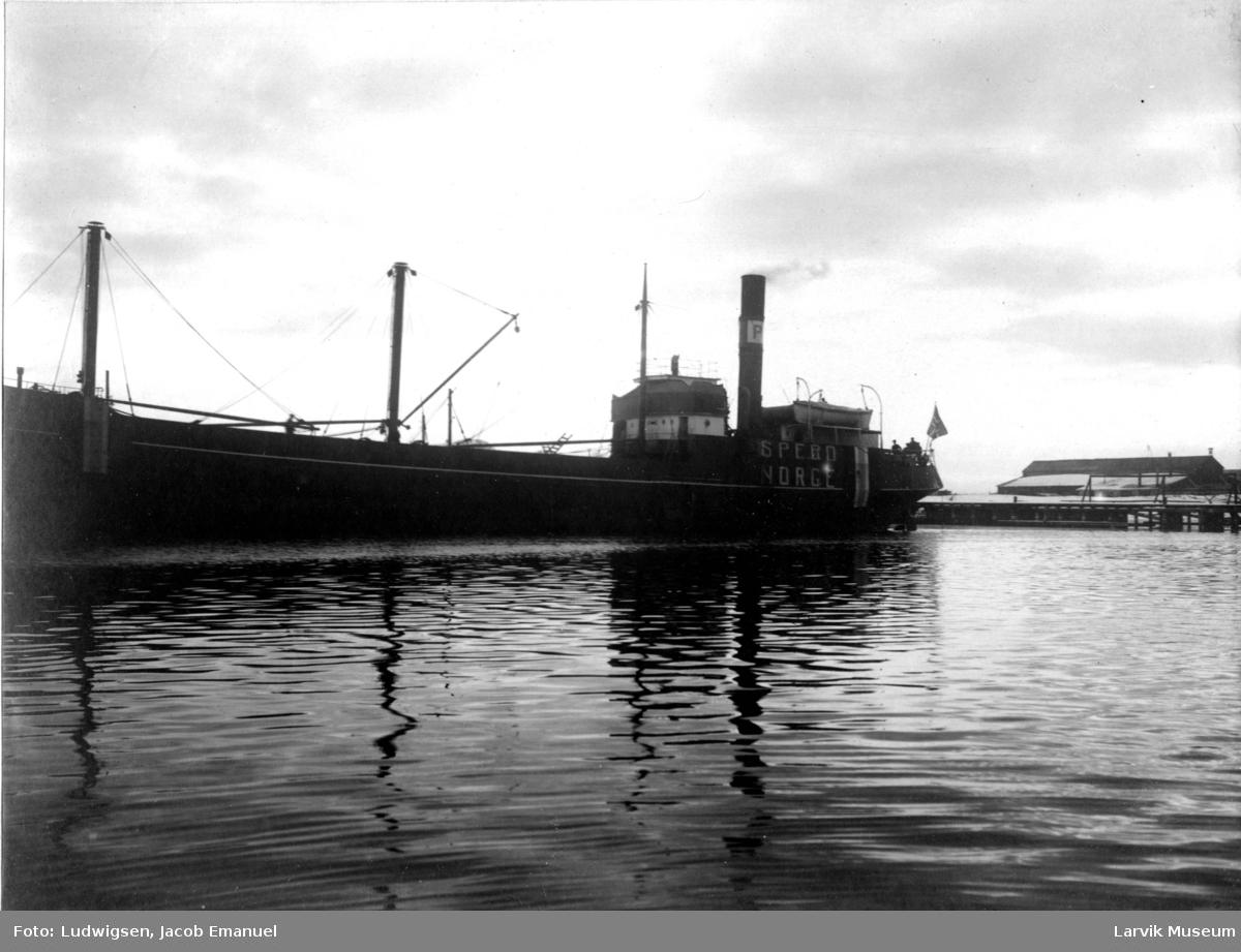 Fartøy, dampskipet Spero.
