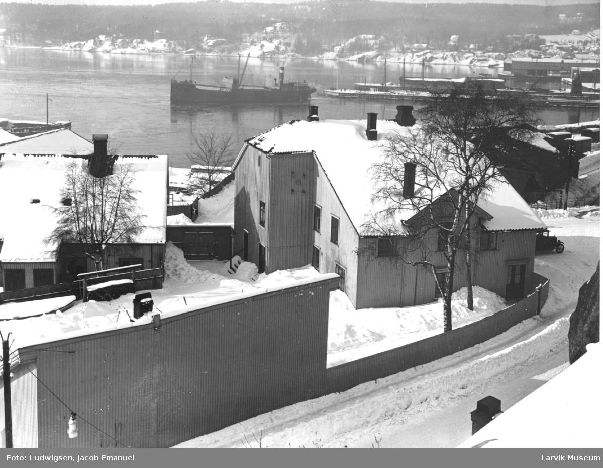 bebyggelse, trehus,Tordenskjoldgården
