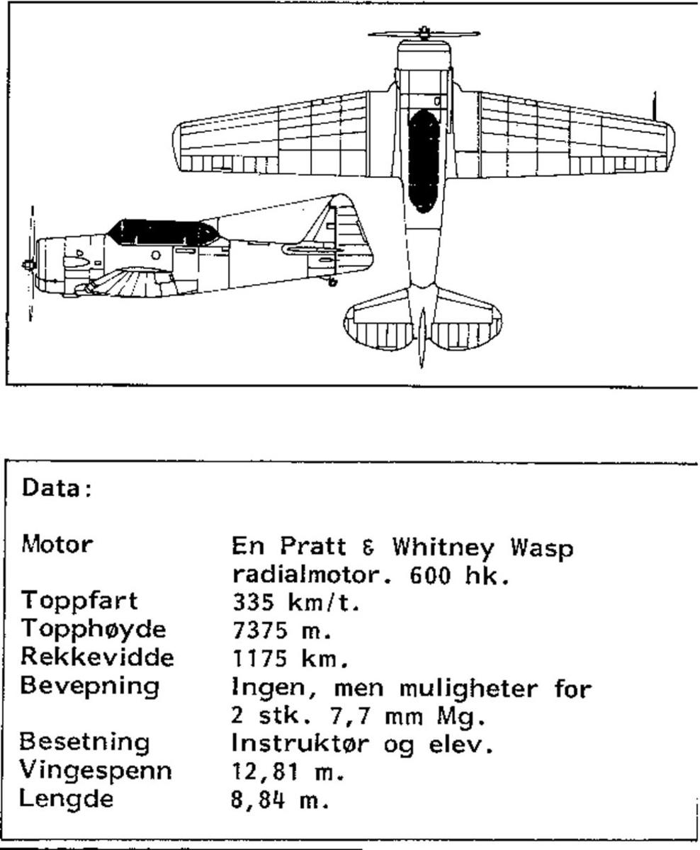 Treplanskisse, North American T-6, Harvard