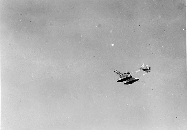 Luftfoto av 1 fly, Savoya S-55.
