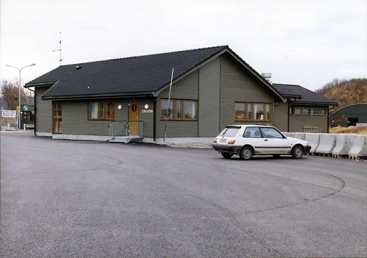 Vakt MP bygg hovedvakten Bodø hovedflystasjon.