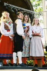Firandet av den svenska nationaldagen den 6 juni 2004 på Ska