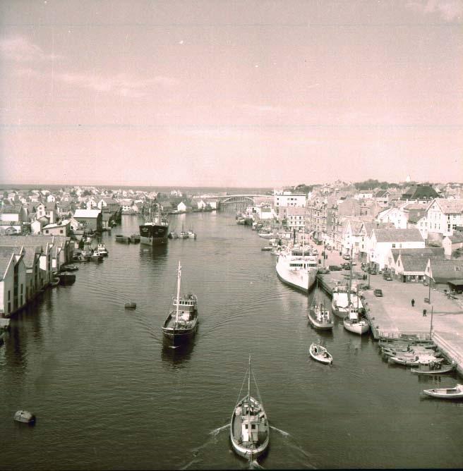 Oversiktsbilde - Havnemiljø.