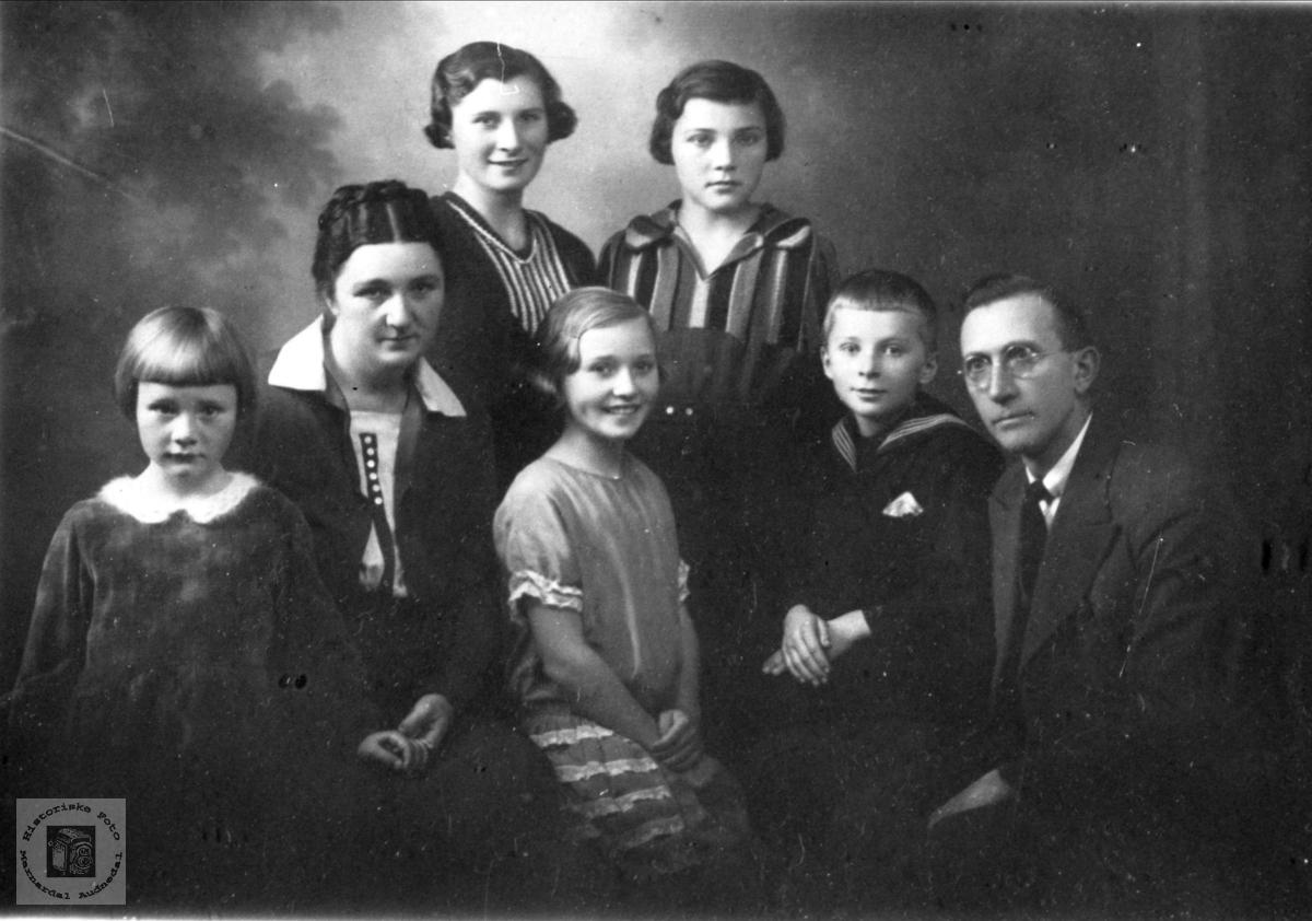 Sigvart Johan Nomes familie