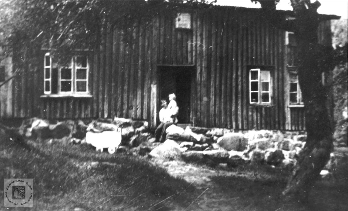 Gammalt hus. Fjellestad.