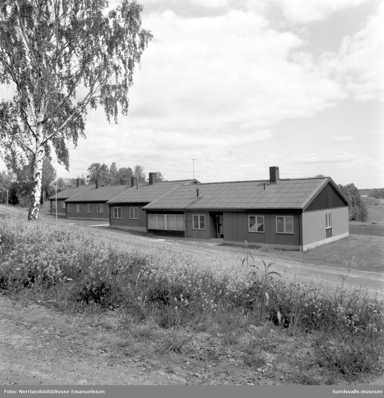 Hamsta vårdhem i Timrå, exteriörbilder.