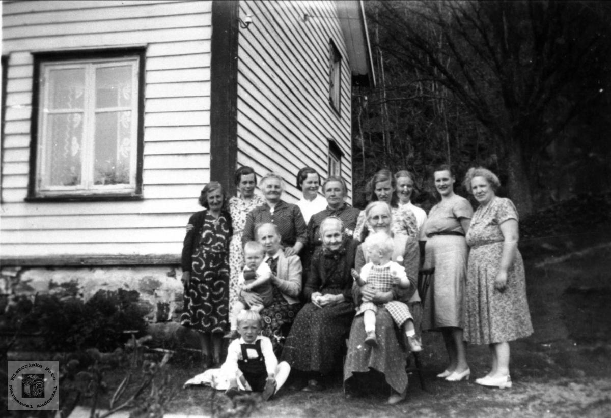 Kvinneforening på Brunvatne