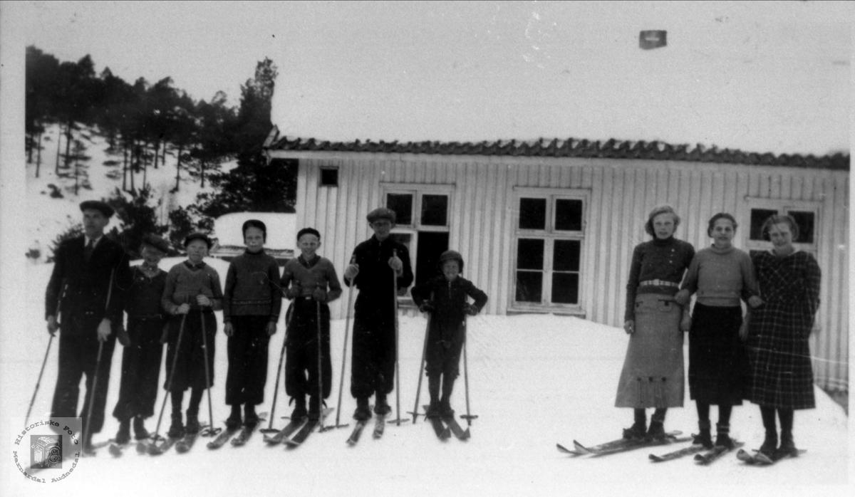 Skitur Eikså skole