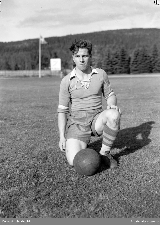 Enar Åsén, fotbollsspelare från Fagervik.