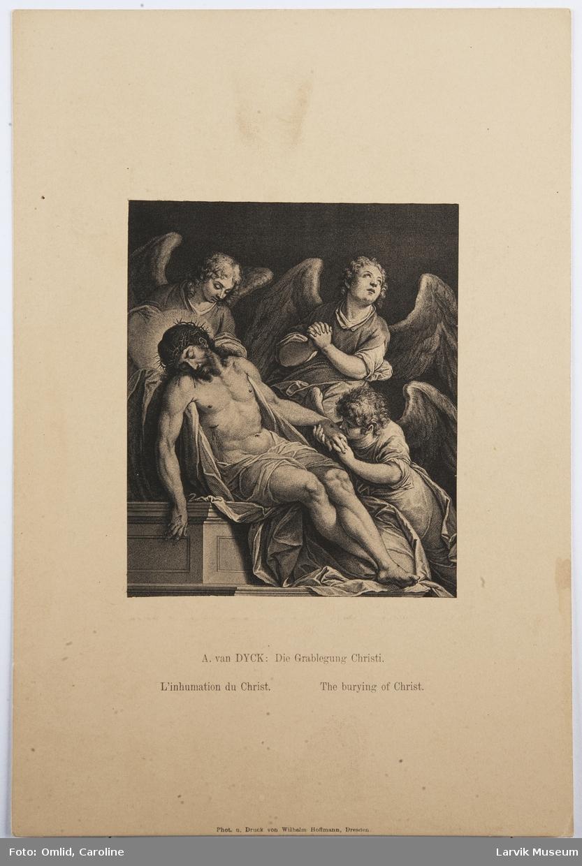 Die Grabelgung Christie. van Dyck.