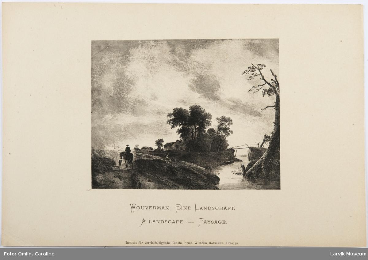 Wouverman: Eine Landschaft-