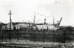 Frihamnen, Stockholm, 1919.