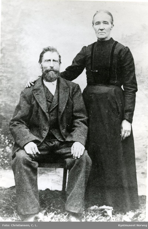 Johan Olsen Kvaløy og Anne Simonsdatter Kvaløy