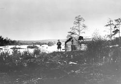 "Fra Skogfoss ""Männikafoss"", september 1896. Ole Johnsen Must"
