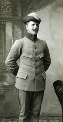 Fritz Edvardsson, släkting till fotografen Oscar Färdig