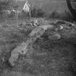 Vindbräcka-stenen i Holländaröd, ett gravmonument från järnå