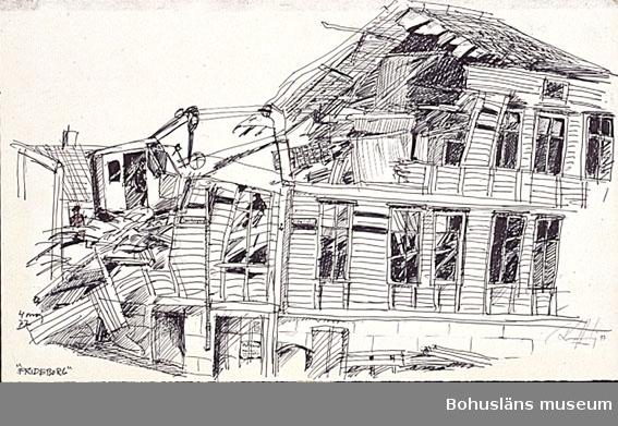 Rivning av byggnad