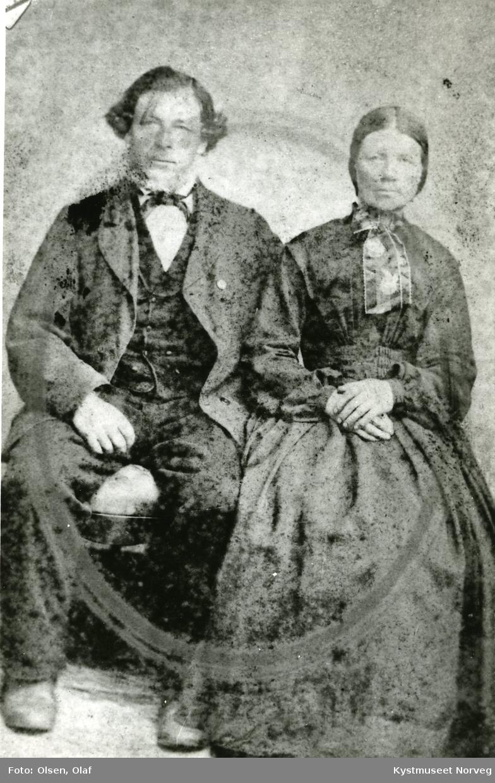 Petter og Elen Sandø