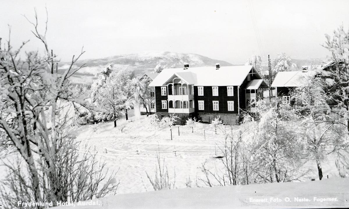 Skysstasjonen Frydenlund i Aurdal