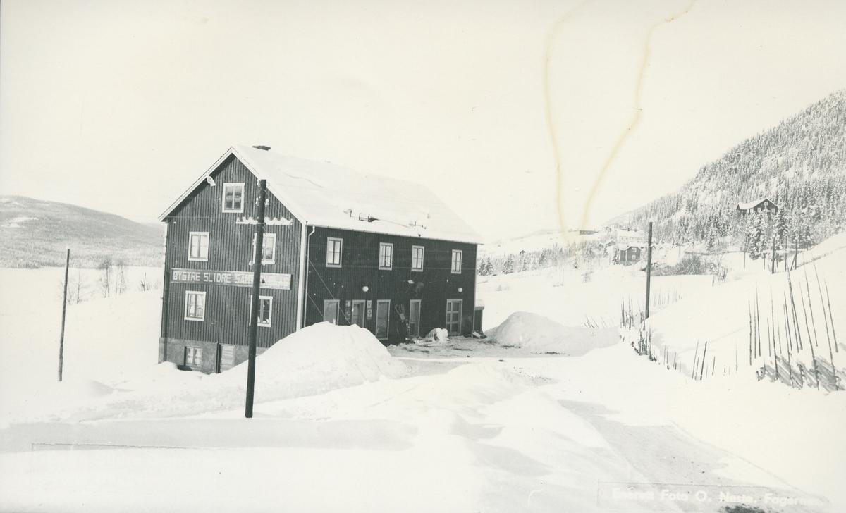 Bygningen til Øystre Slidre Samvirkelag, Heggenes