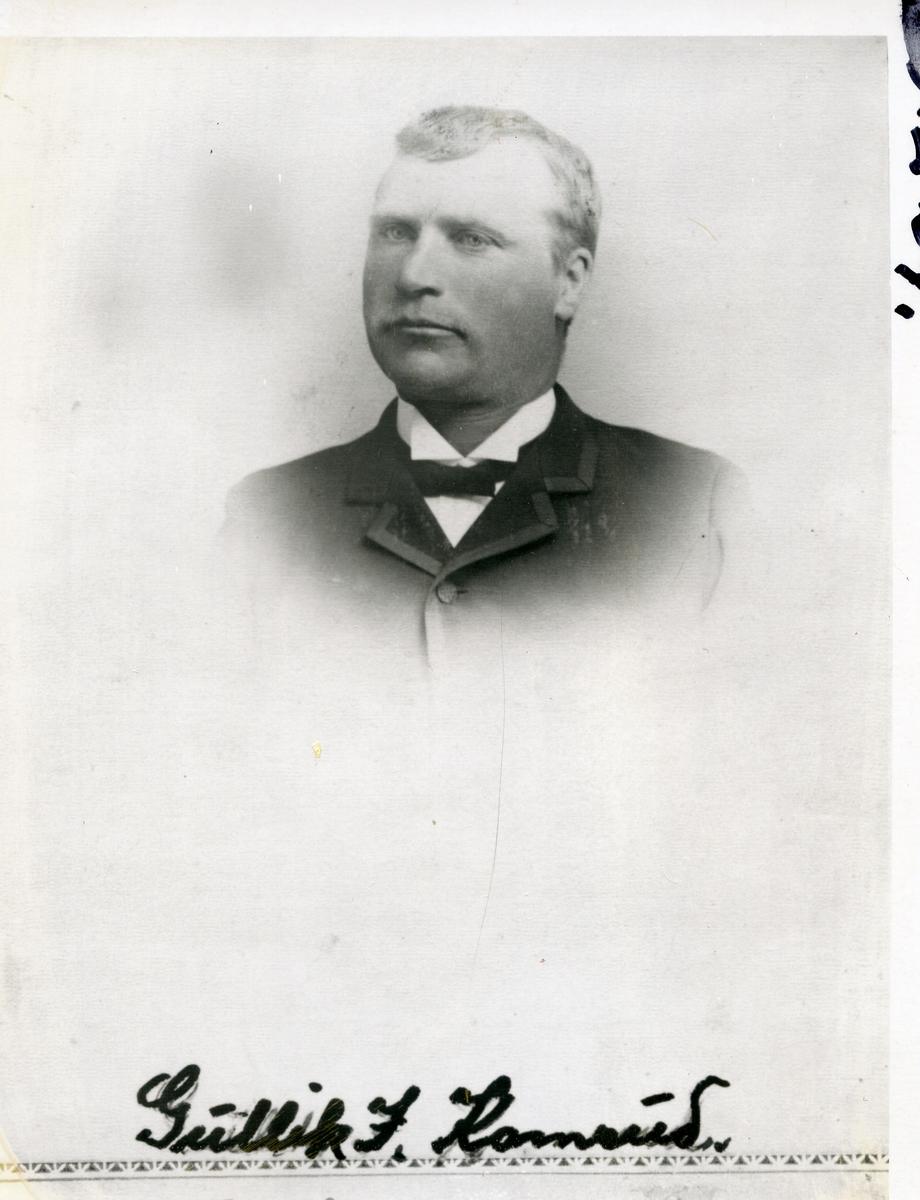 Brystbilde av Gullik Ivarson Kamrud (1862-1957)