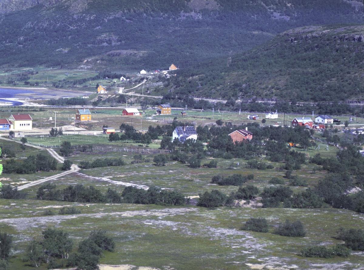 Flyfoto fra Kunes. Negativ nr. 122658.
