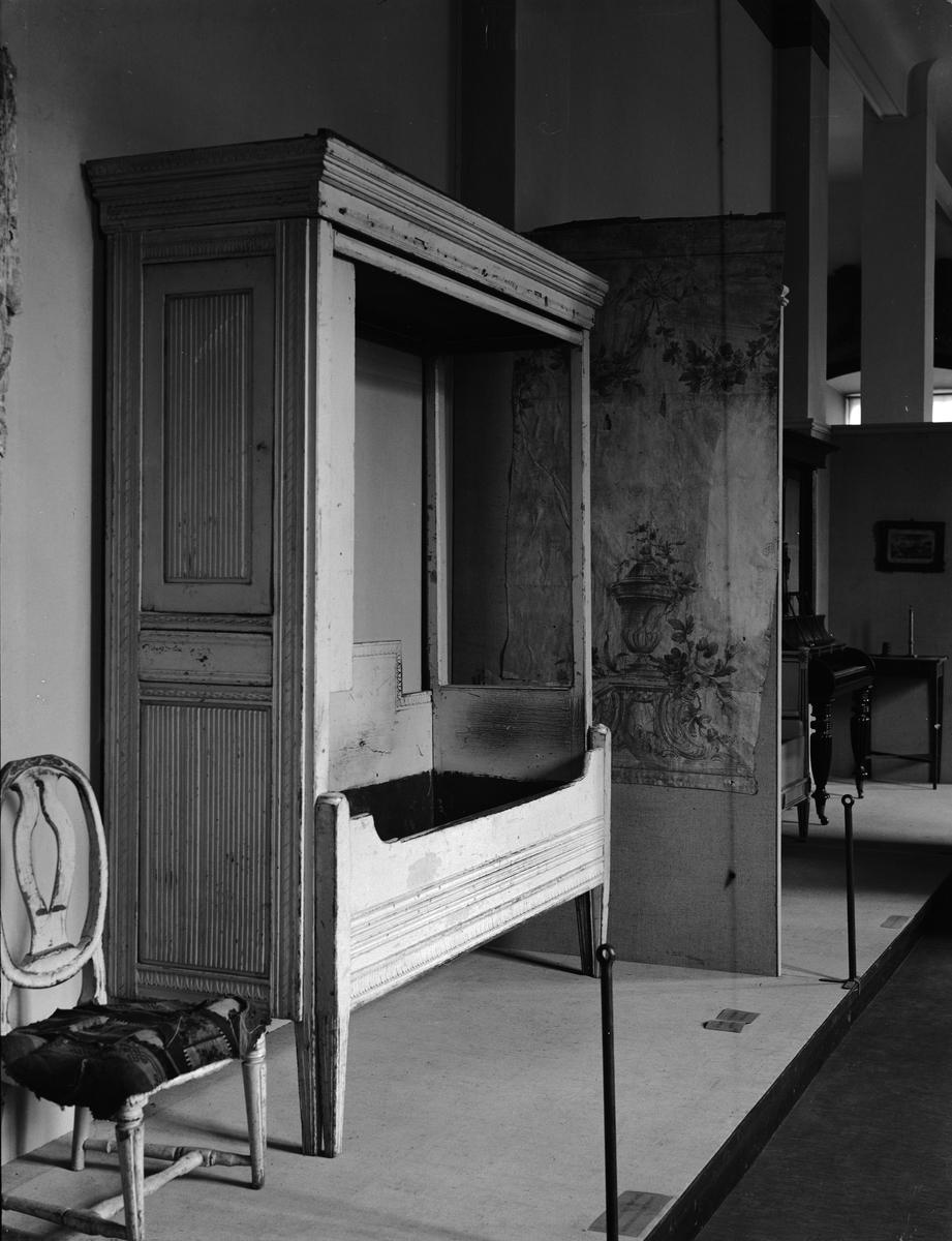 Upplandsmuseets utställning på Gustavianum, Uppsala 1937