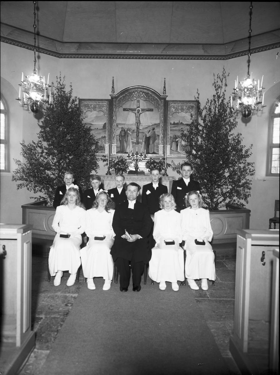 Konfirmation Vänersnäs kyrka