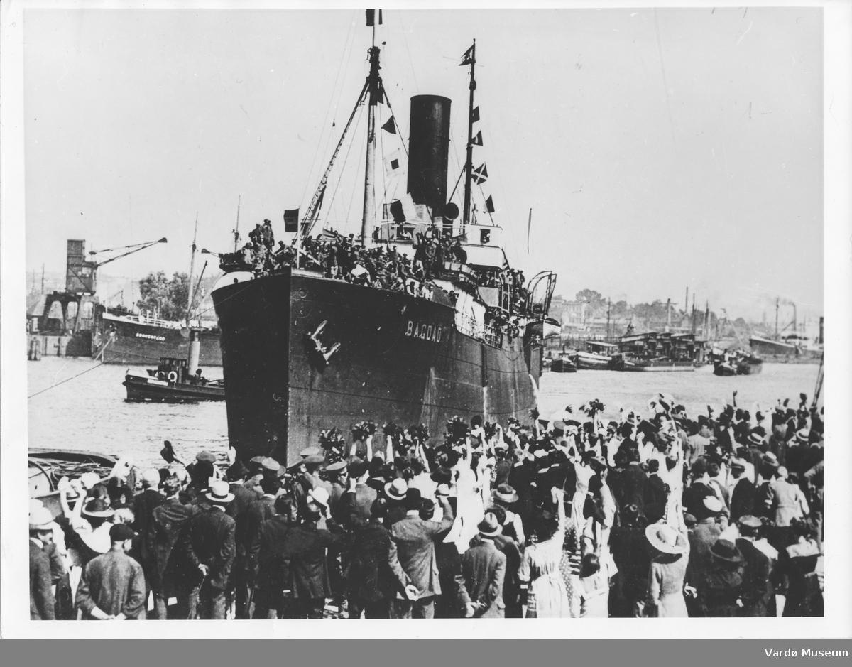 Retur av krigsfanger 1921/1922