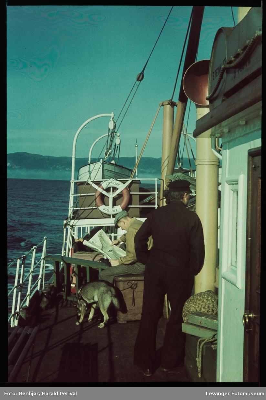 Ombord på D/S Stenkjær