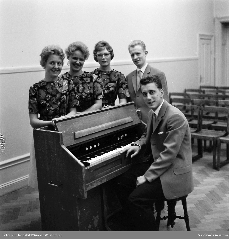 Kjell Lönnå med sin kvintett
