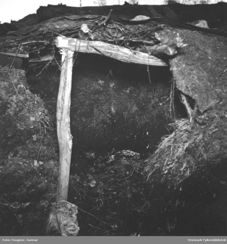 Et fangehull i Porsanger.