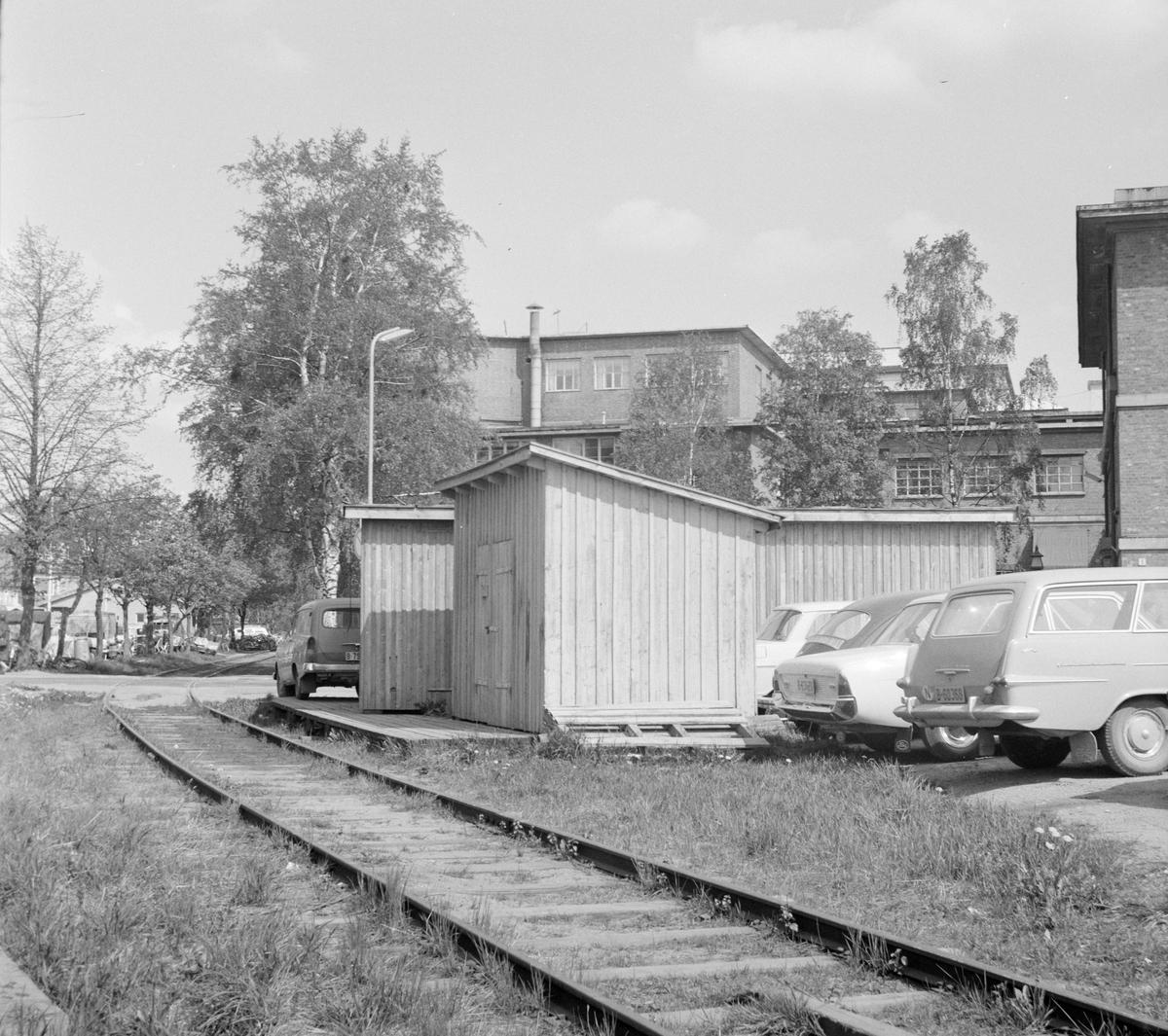 Holdeplass i Askim på den nedlagte Solbergfossbanen.