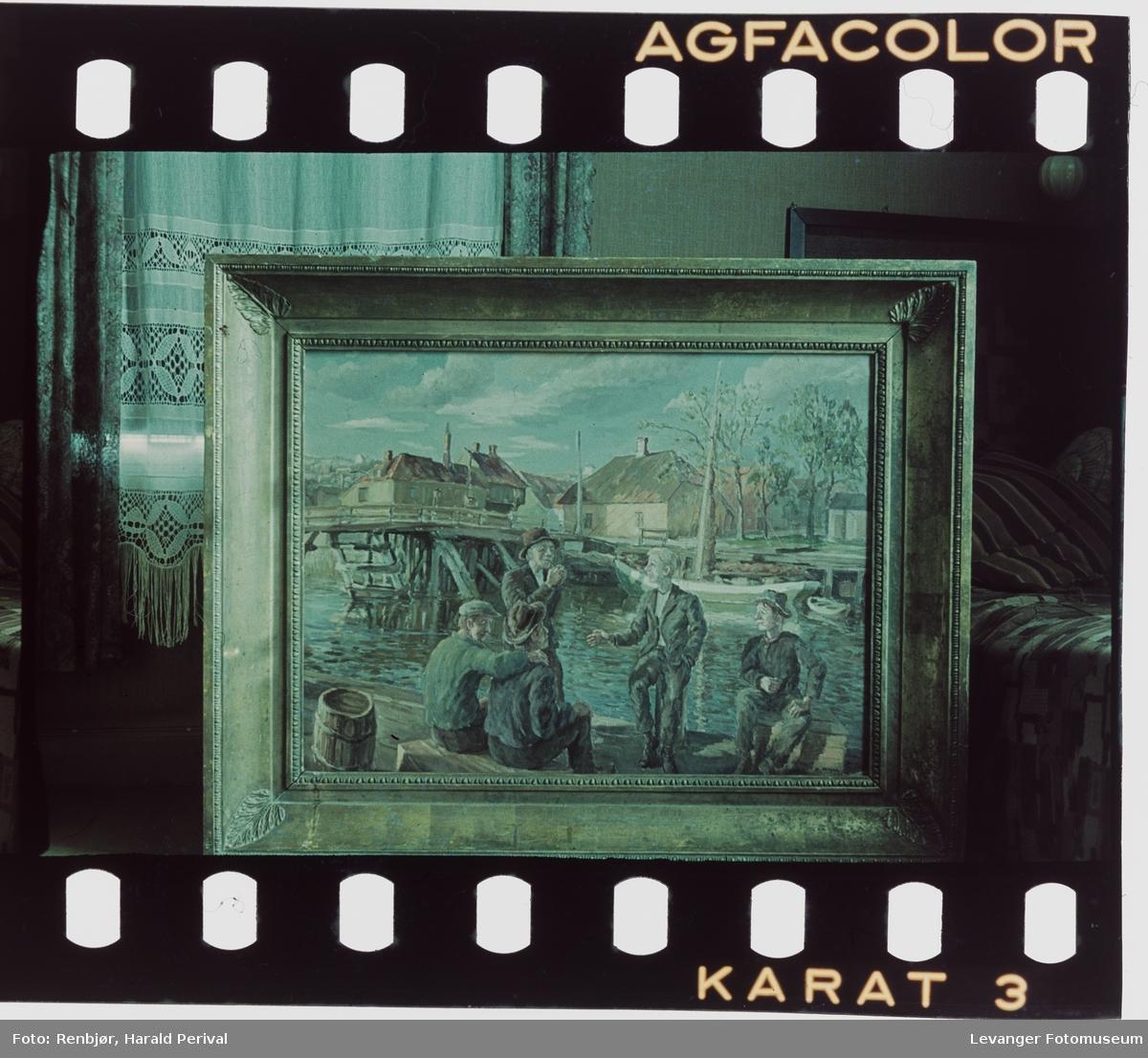Fotografi av maleri.