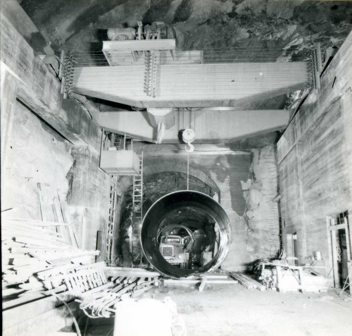 Kraftområdet. Fellesanlegg. (82) November 63
