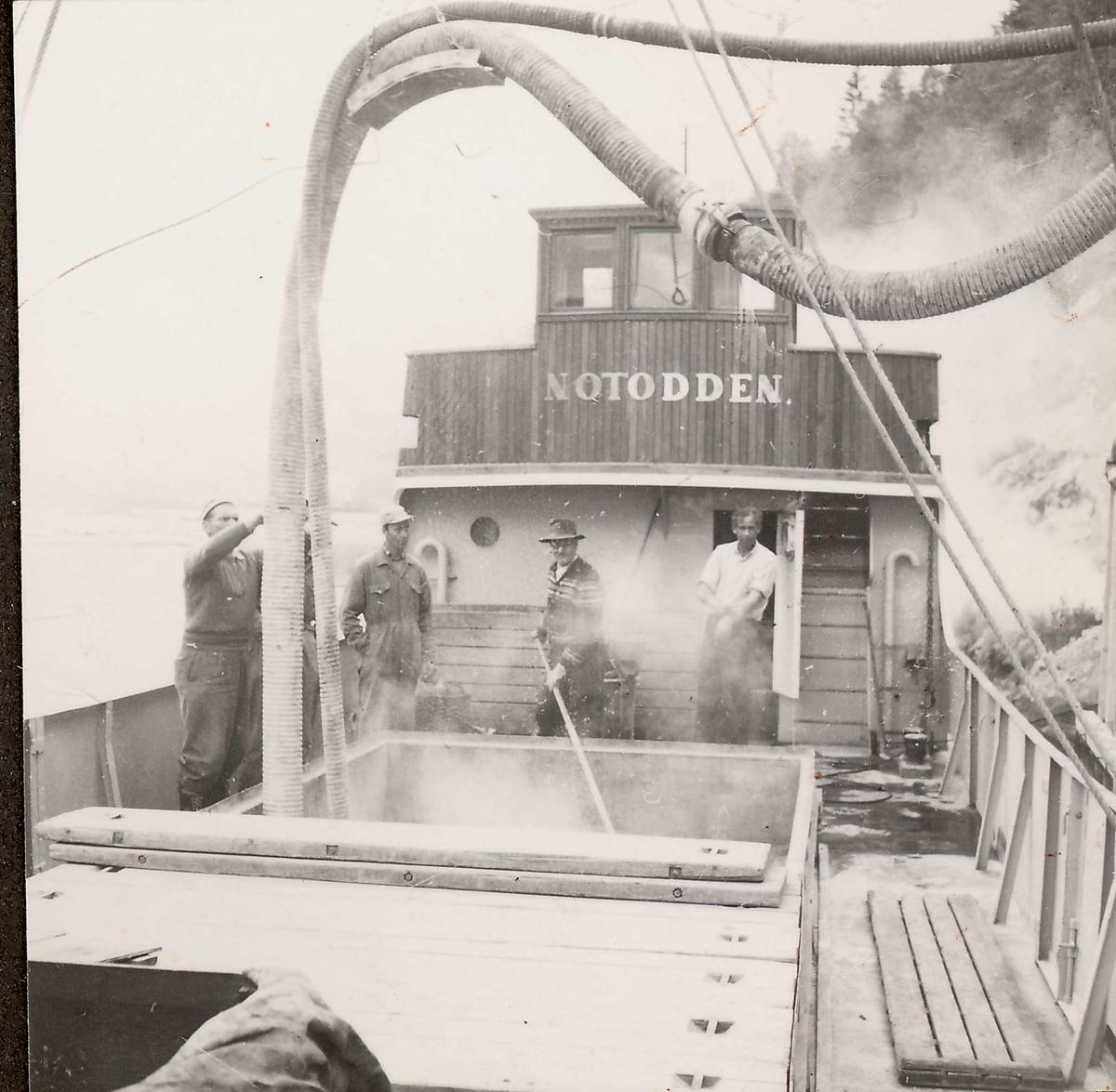 41-1 Personer sementtransport med båt