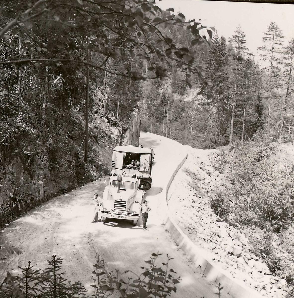 Transp Åmot- Dalen 21, juli 58