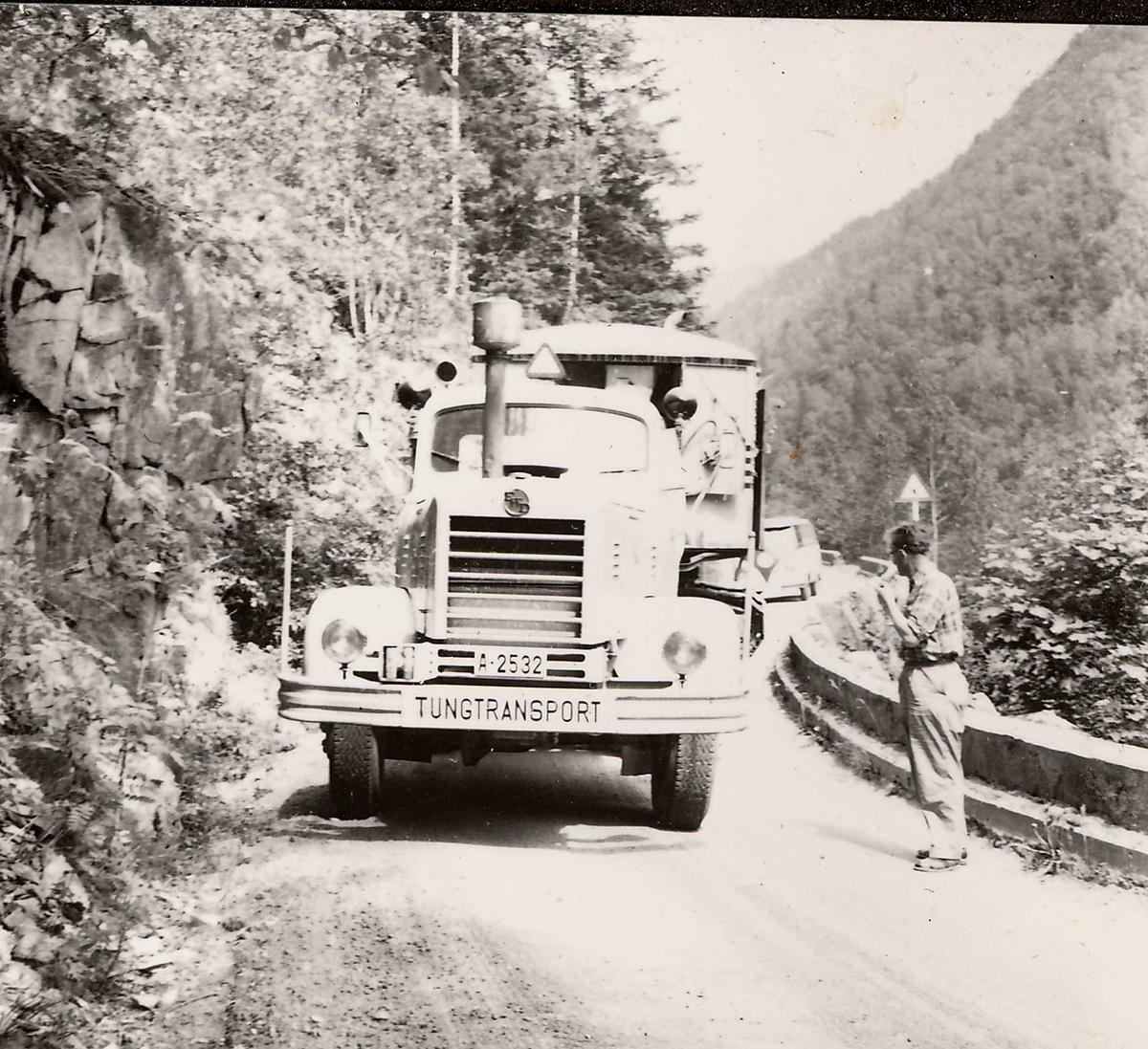 Transp Åmot- Dalen 23, juli 58