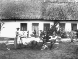 Lantgård, negativ 70:3198 18x24.