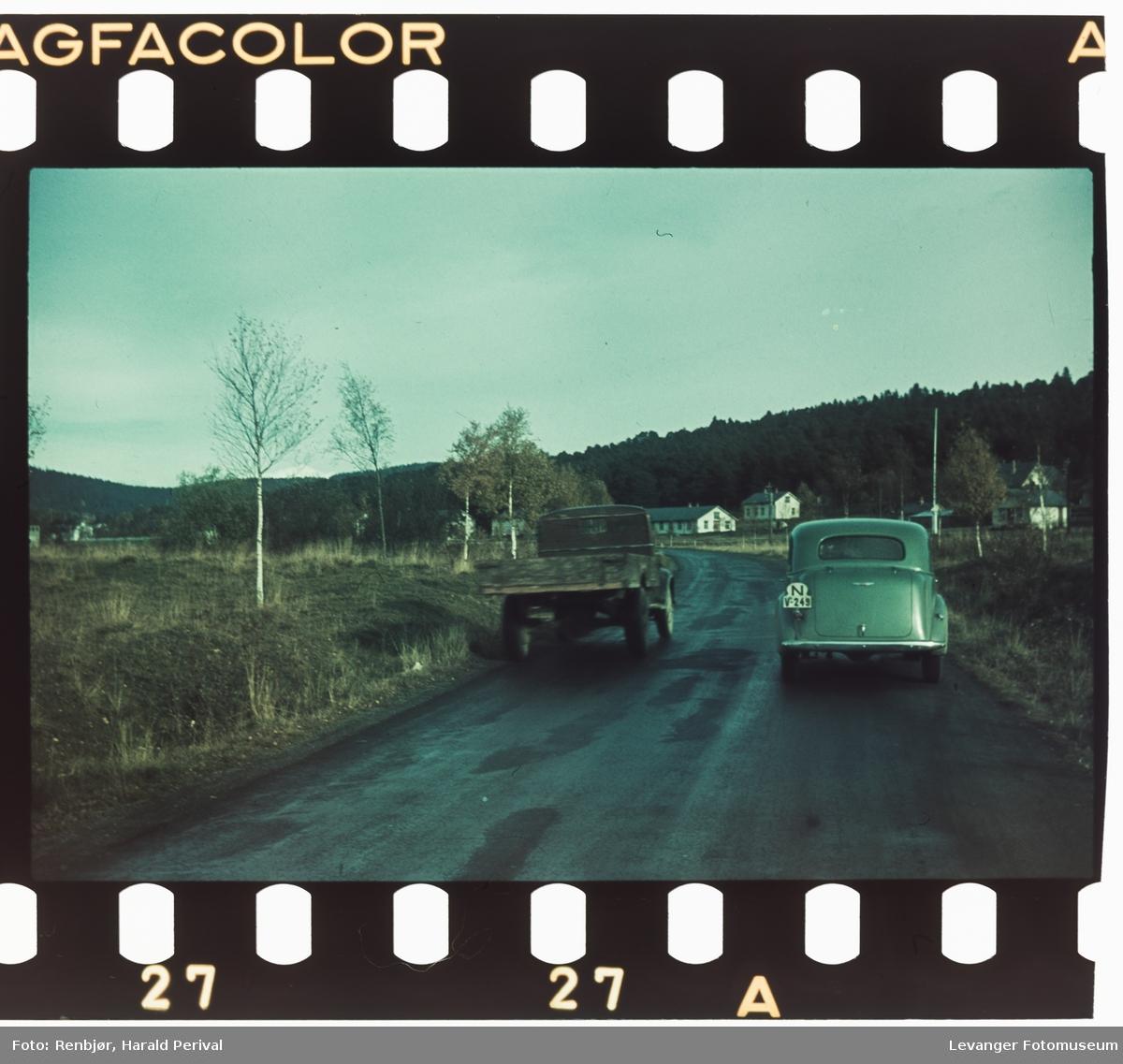 På veg mot Steinkjer fra sør.