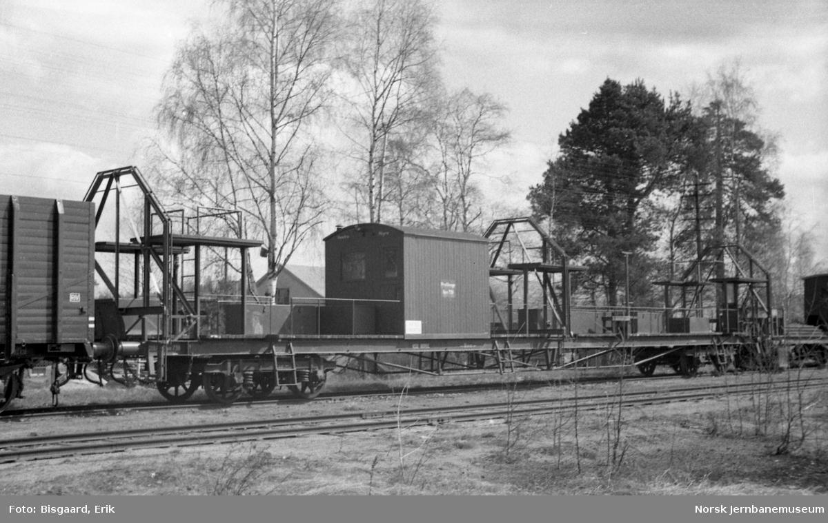 Profilvogn litra Xpo 738 på Elverum stasjon