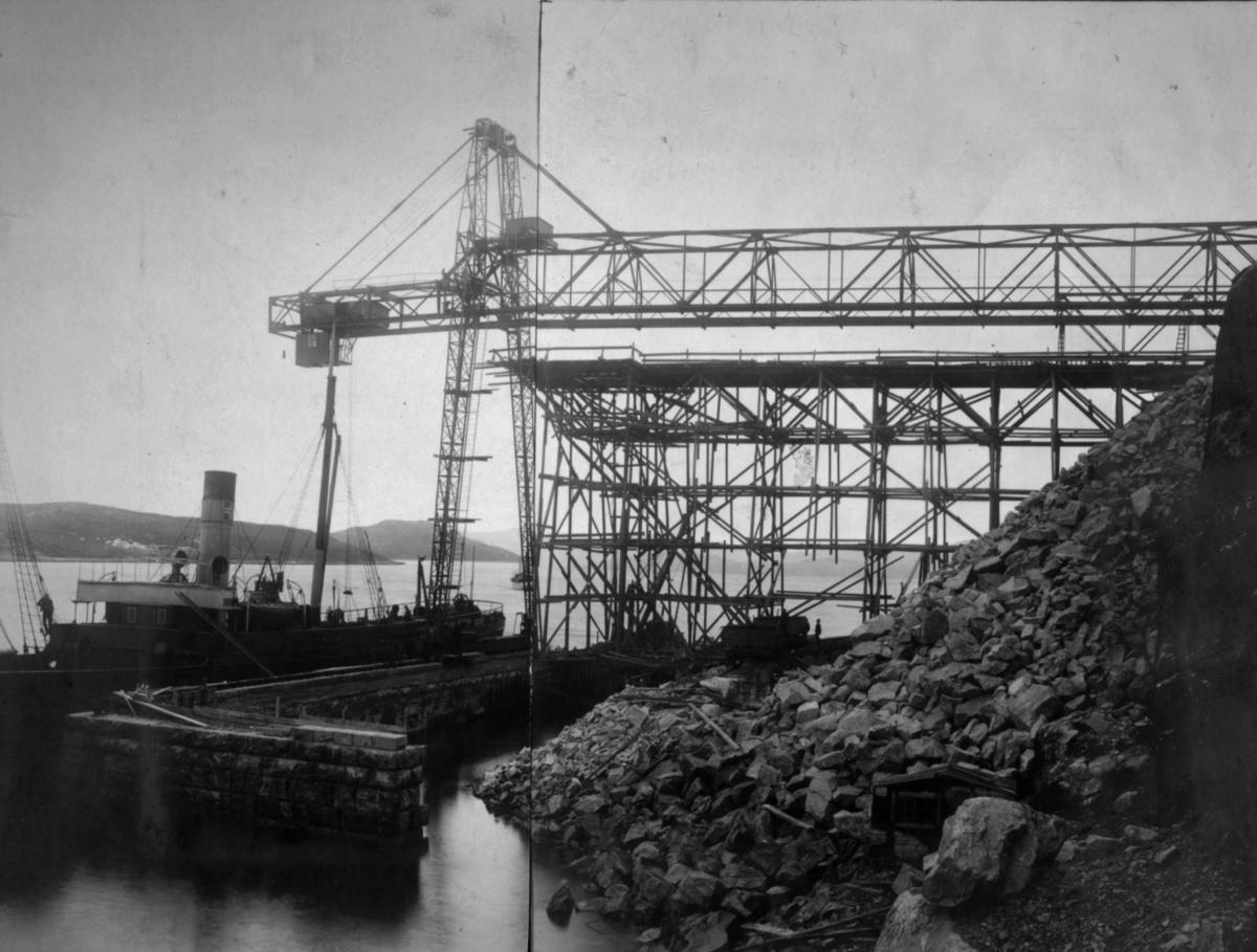Flott bilde fra kaiområdet. 10/10 1910.