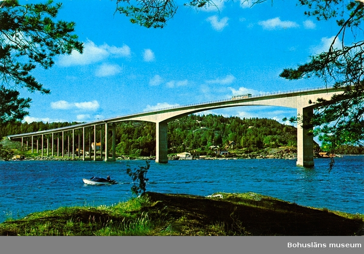 Text på vykortet: Nötesundsbron ::