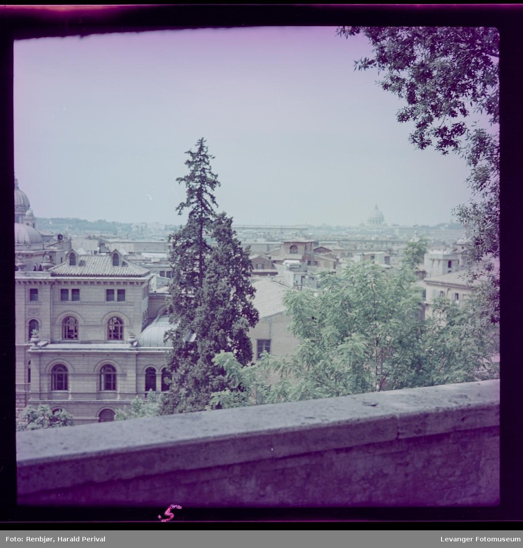 Utsikt i Roma.