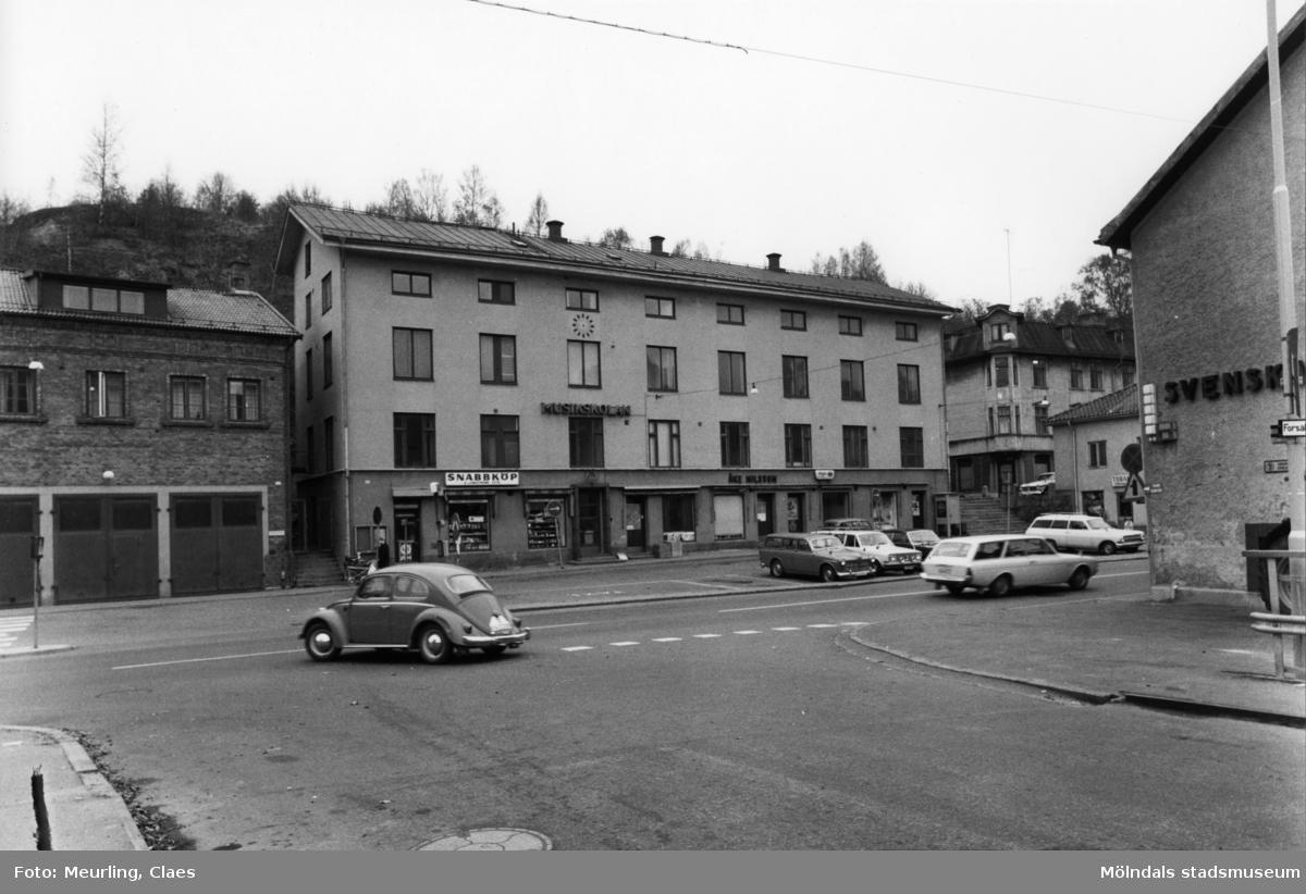 Musikskolan, f.d Stadshuset, vid Gamla Torget år 1973.